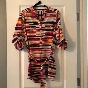 Calvin Klein Long Tunic Blouse